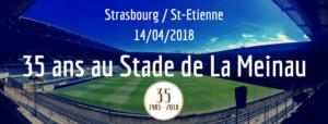 35 ans au Stade de la Meinau