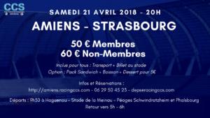 Déplacement à Amiens